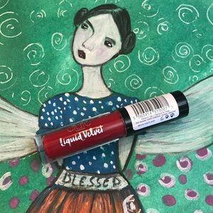 Ciaté Liquid Velvet Diva True Red lipsticks